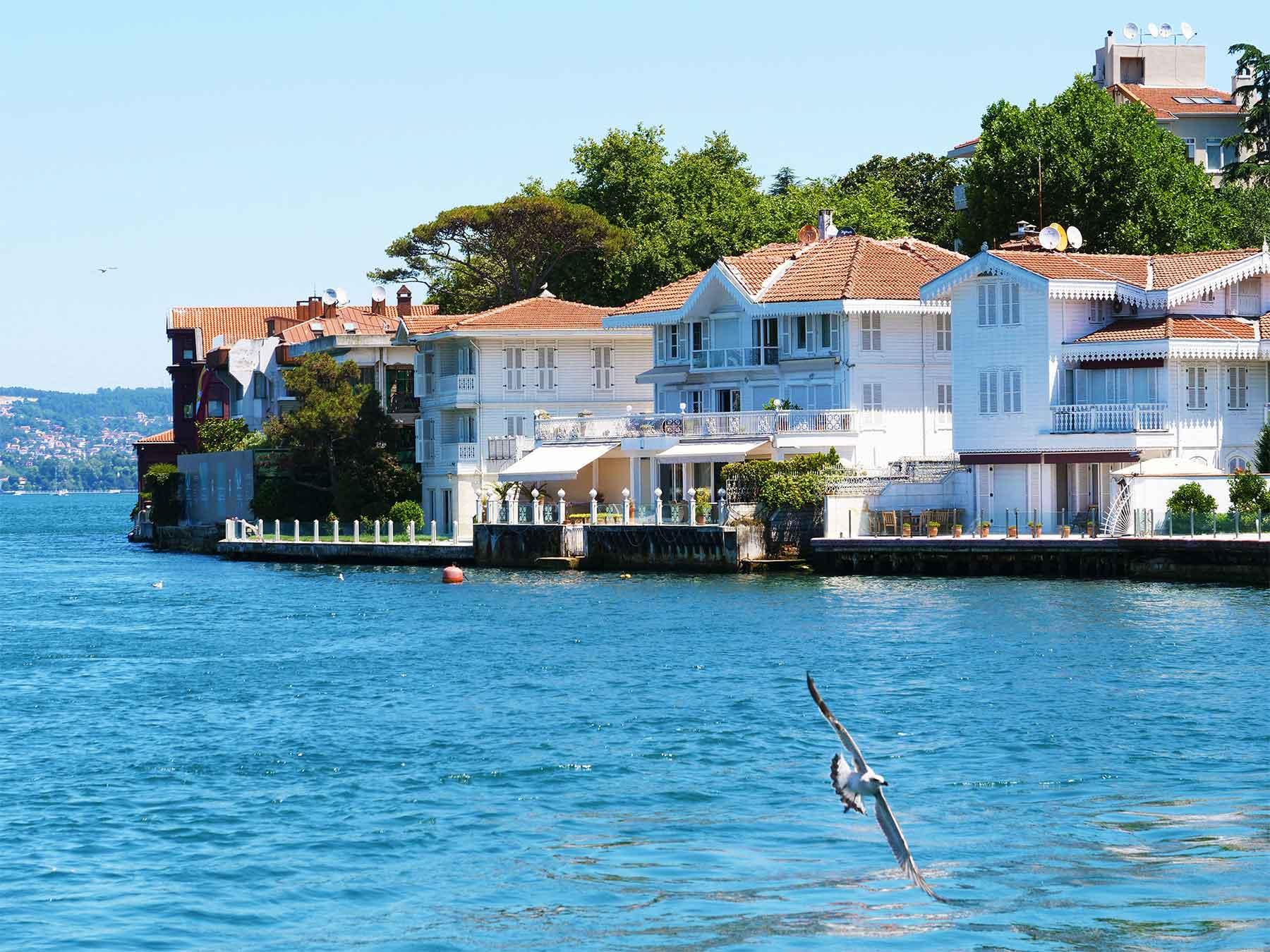 Bosphorus Coastal Residences Istanbul Turkey | Dr Steven Andrew Martin 2019 Research