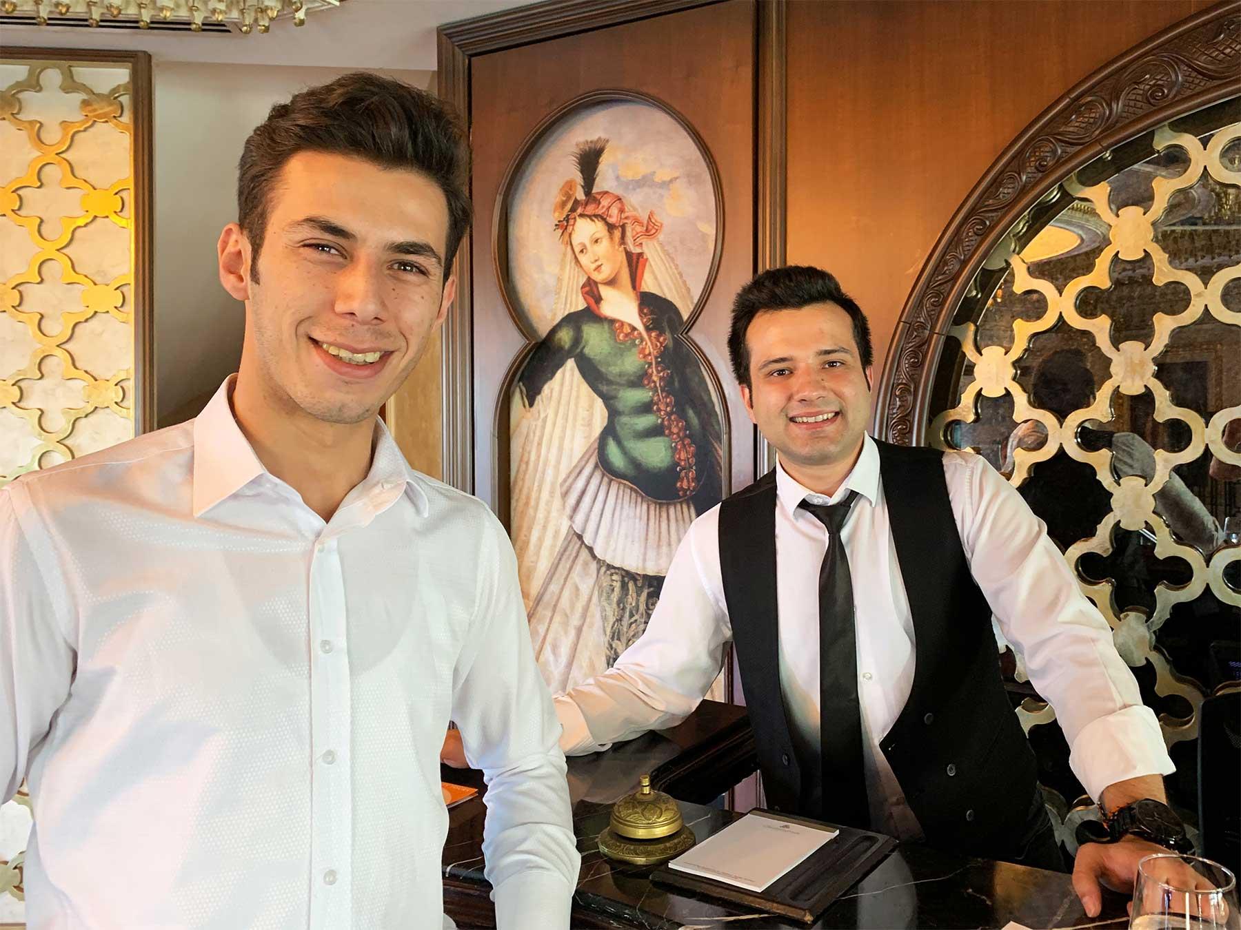 Daru Sultan Hotels Galata Istanbul Turkey | Seyit and Ugur | Dr Steven A Marin 2019 | Istanbul Learning Adventure