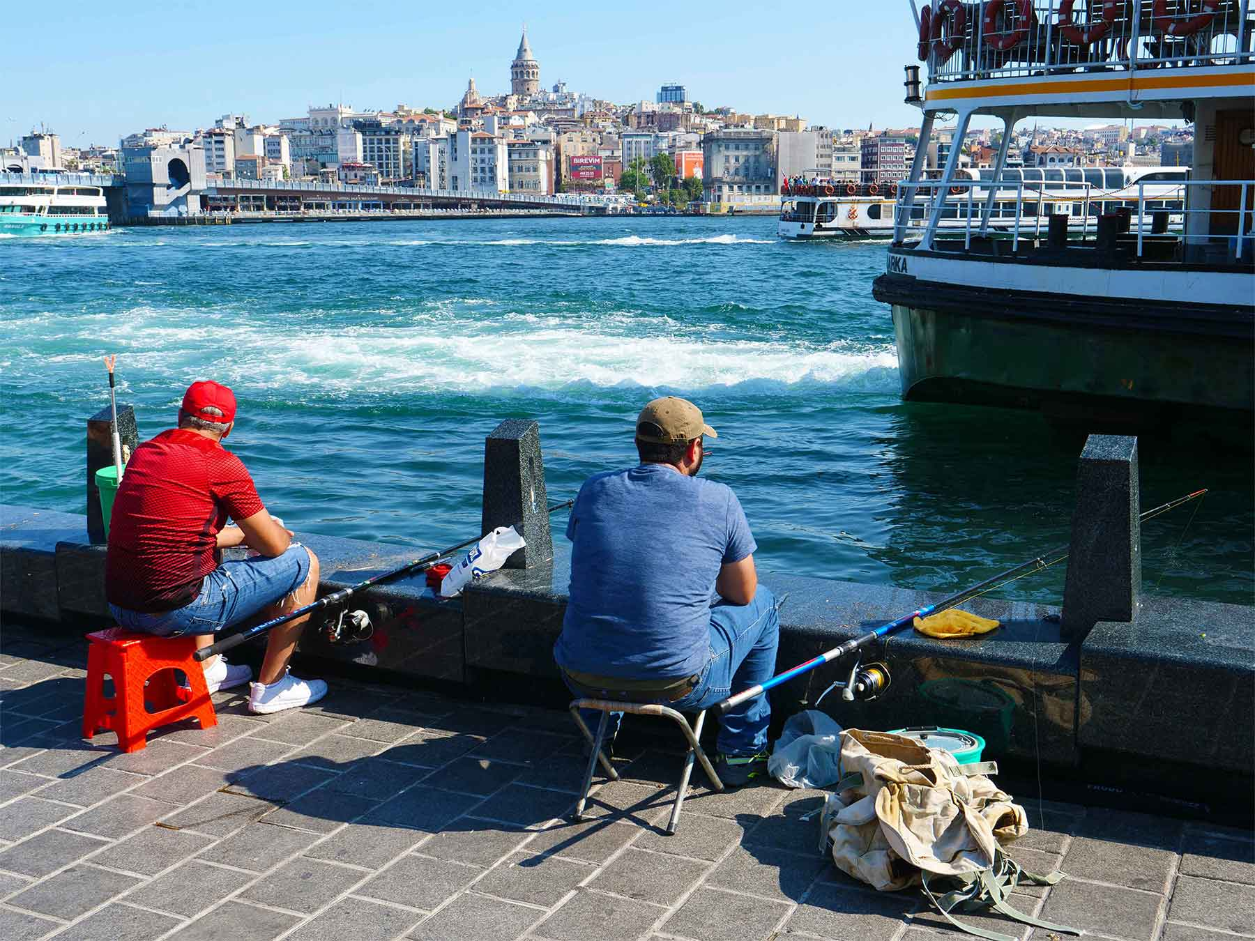Bosphorus Fishers | Istanbul Turkey | Photo Dr Steven Andrew Martin Teaching and Learning