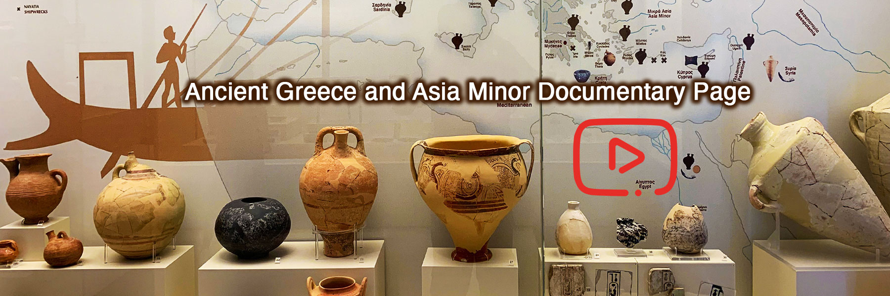 Greece and Asia Minor Documentary Film Page | Dr Steven A Martin | Archaeological Research