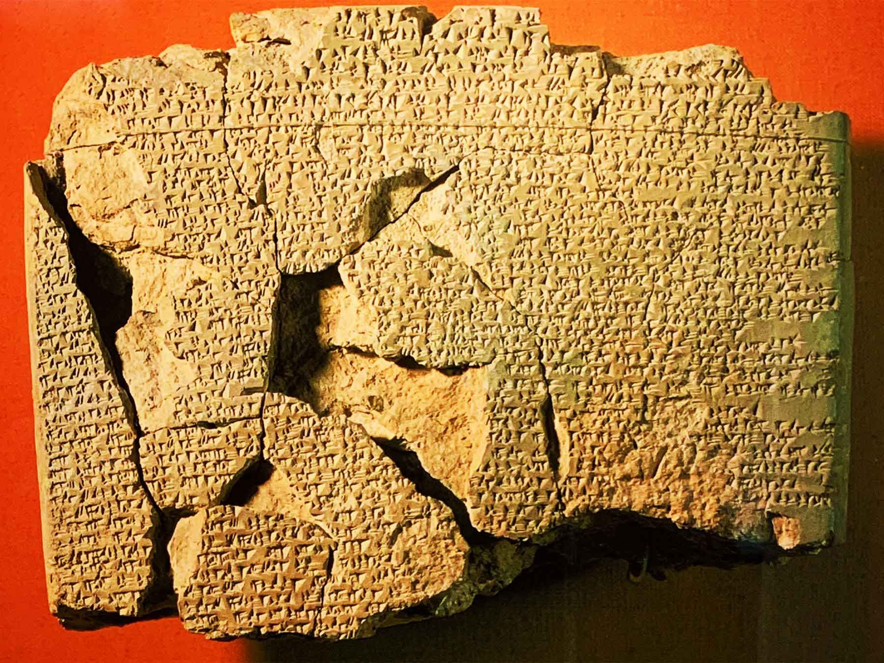 Hittite Peace Treaty of Kadesh | Egyptian - Hittite Peace Treaty 1259 BCE | Hattusa Turkey | Istanbul Archaeological Museums | Professor Steven Andrew Martin