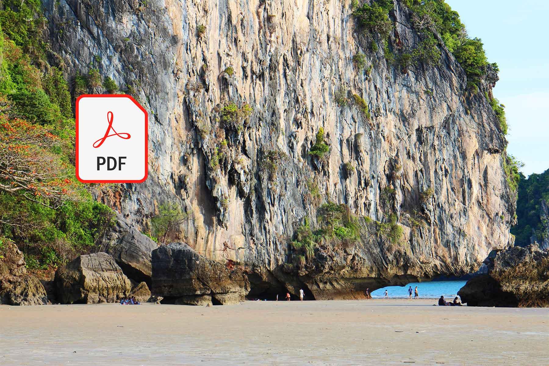 Limestone Karst | Hat Yao Beach Southern Thailand | Thailand Geography | Dr Steven A Martin | Karst Research Presentation
